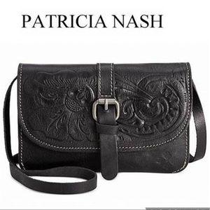 Patricia Nash Leather Crossbody Bag Torri Purse